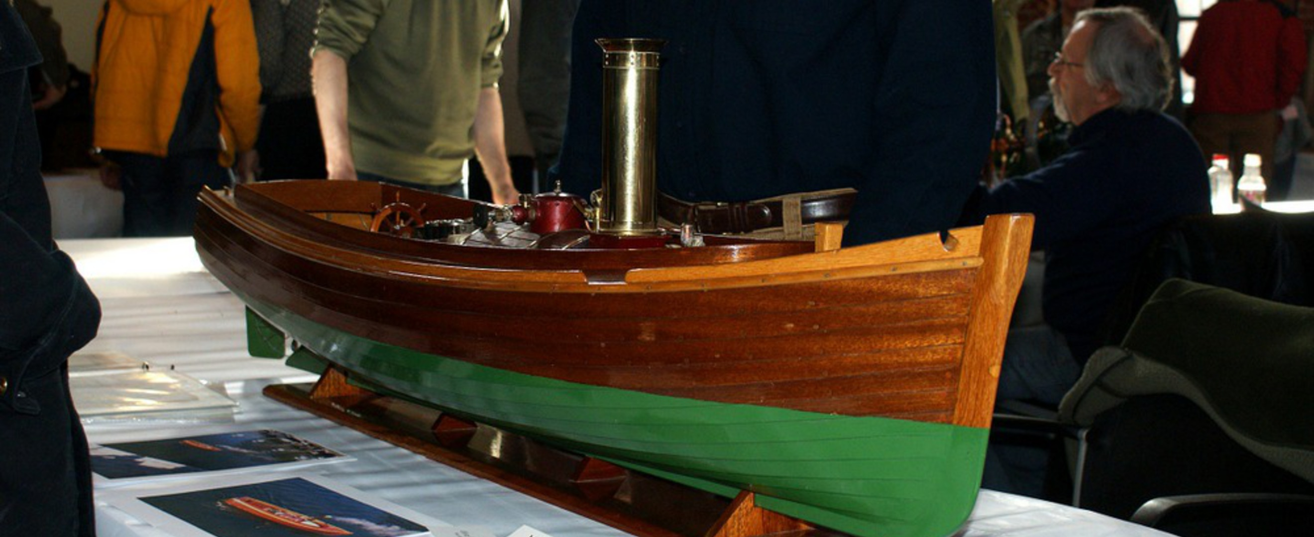 A model steamboat